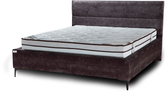 designed double bed